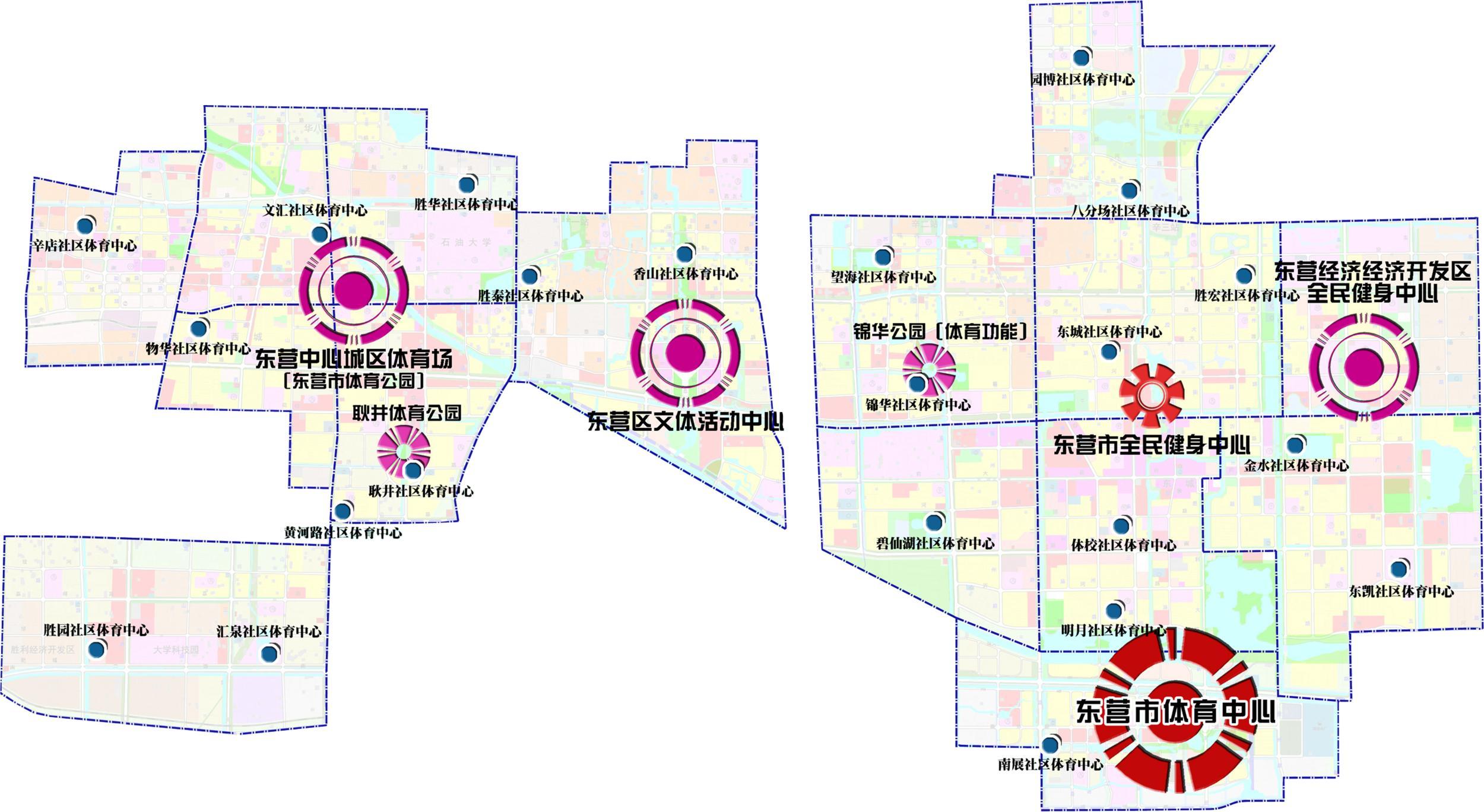 广饶县域核心区用地规划图