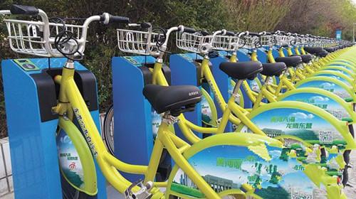 曹州路施工 明月小区西门公共自行车站点停用