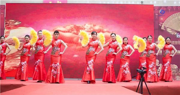 2018全球旗袍春晚海选山东分会场在东营盛大开演