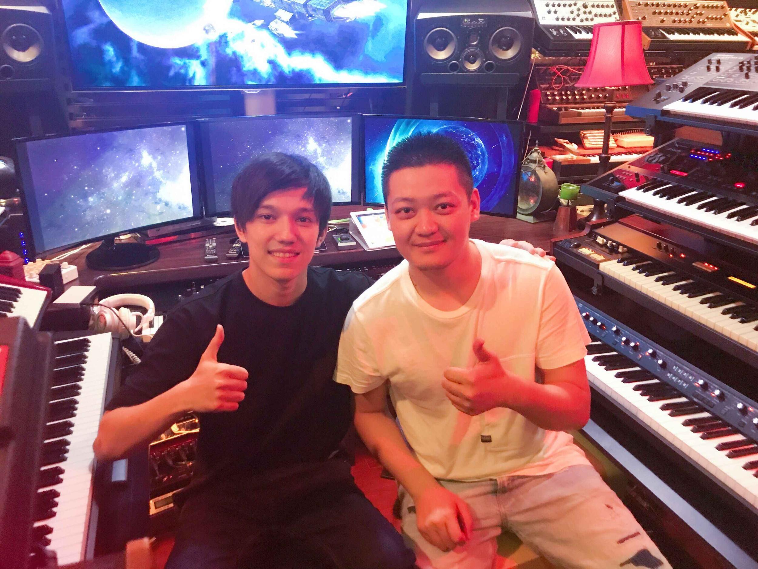 东营人吕易秋:EXO、迪玛希都唱过他写的歌