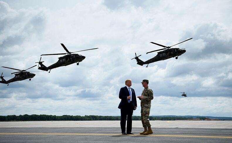 特朗普签署国防法案