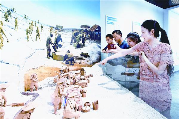 利津县明集海盐文化馆开馆