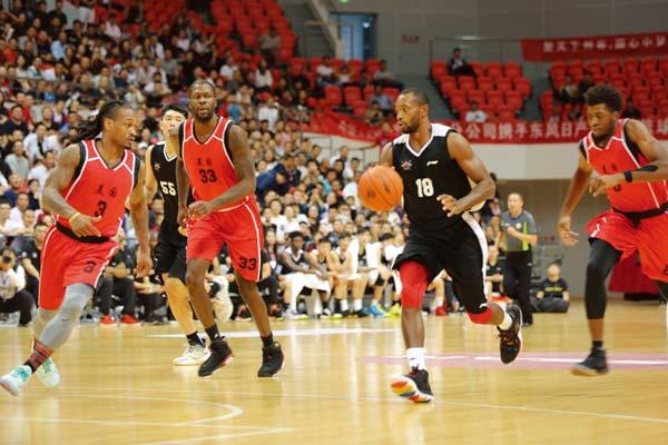 中美篮球对抗赛(东营站)落幕