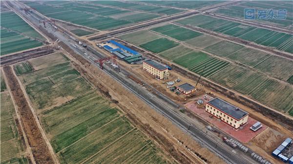 东营市河口区信息港_东营港疏港铁路铺轨施工有序进行-新闻中心-东营网